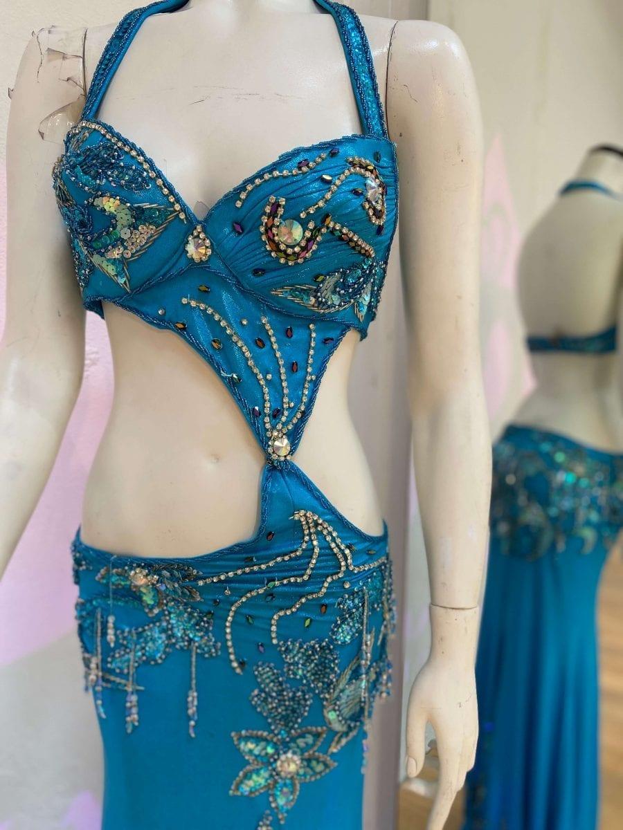 Petite Egyptian Blue Costume