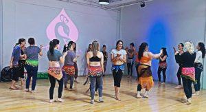 belly dance studio classes